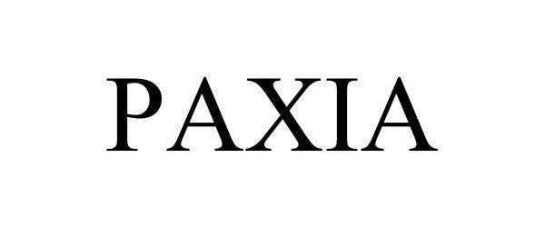 PAXIA Details, a Report by Trademark Bank | Calendar Your